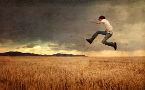 credi nei campi di grano