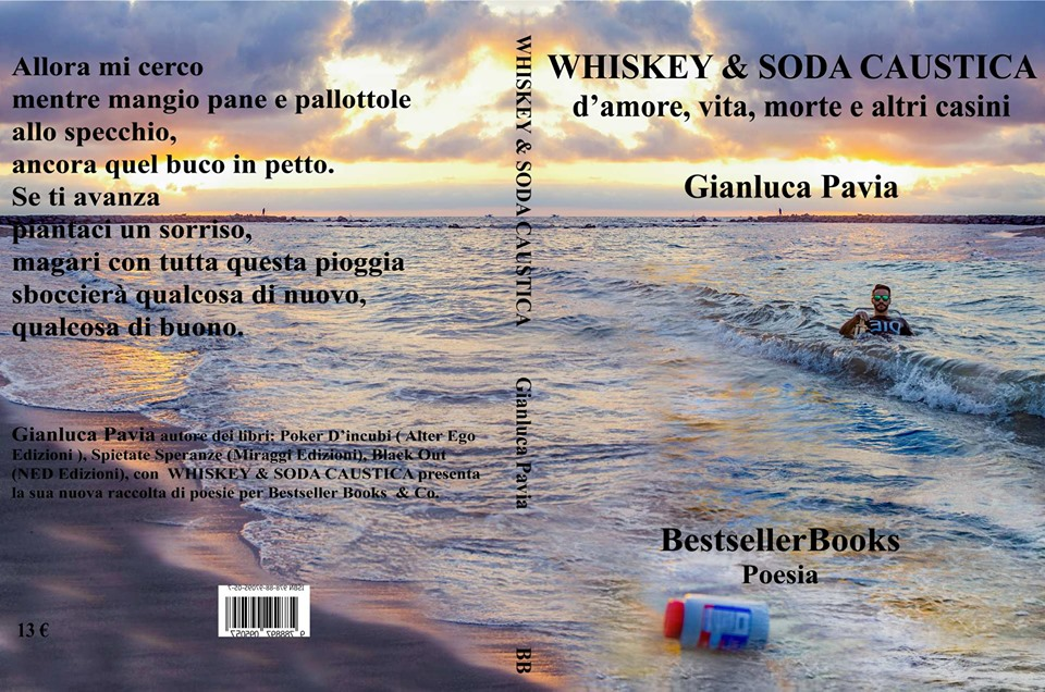 Copertina WHISKEY & SODA CAUSTICA libro di Gianluca Pavia -  Bestseller Books &Co..jpg
