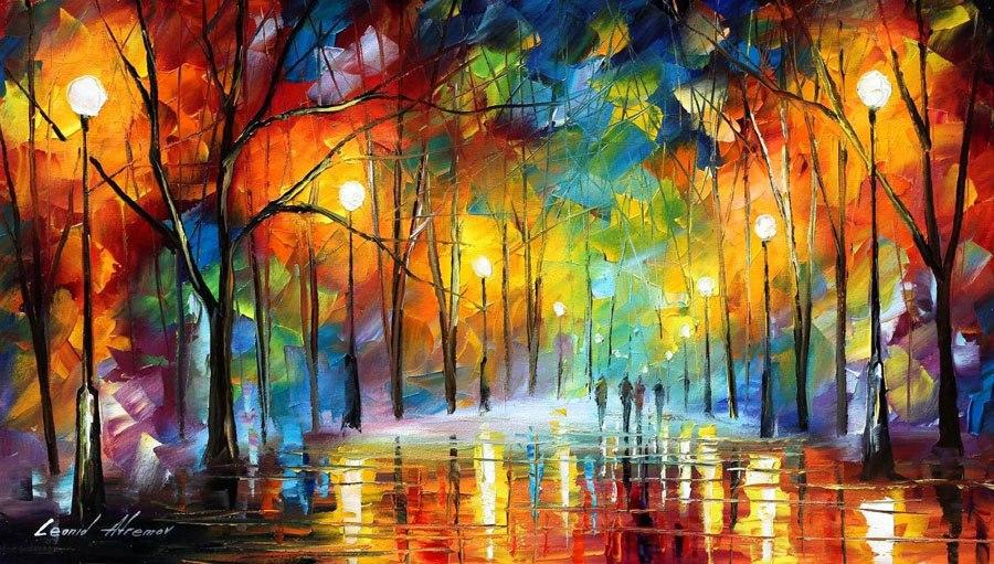 dipinto di Afremov